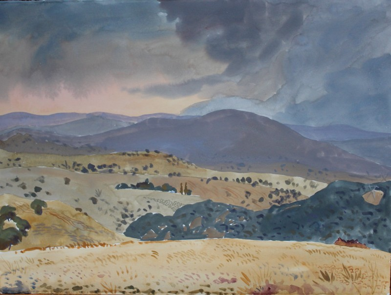 Mountain landscape near the Murrumbidgee 2016 by Mark Dober