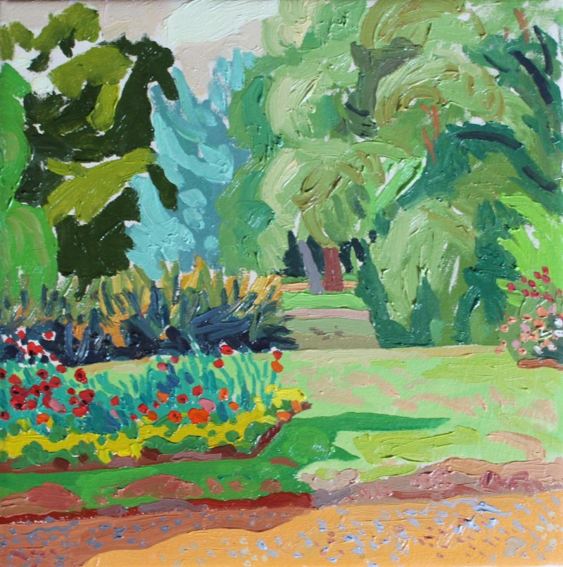Gardens (flower bed) 2018 by Mark Dober