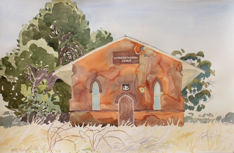 Methodist chapel, Laanecoorie 2017 by Mark Dober