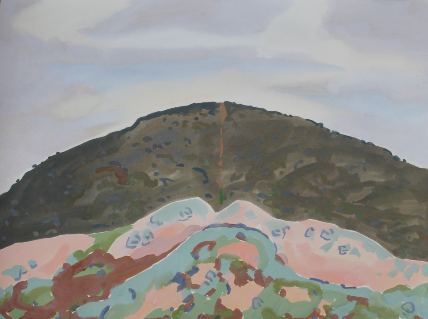 Mt Tarrengower (Nuggetty Hills) 2020 by Mark Dober